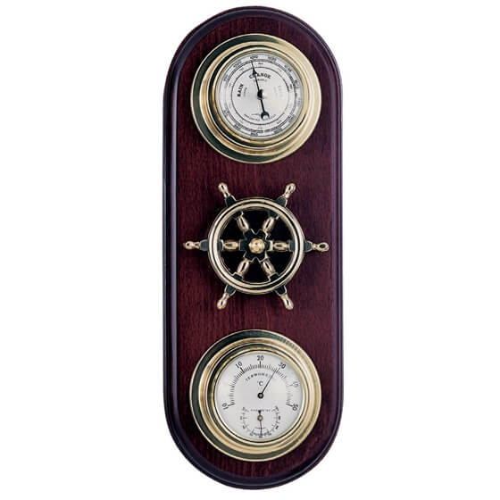 Picture of Barometer / Thermometer / Hygrometer - Two Dial With Steering