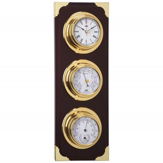 Saat / Barometre / Termometre / Higrometre - Dekoratif Set Görseli