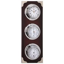 Picture of Clock / Barometer / Thermometer / Hygrometer - Silver Dial