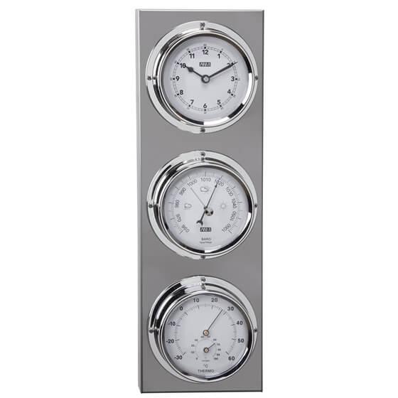 Saat / Barometre / Termometre / Higrometre - Inox Görseli