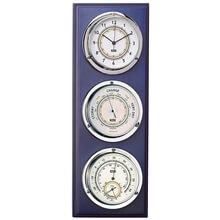 Picture of Clock / Barometer / Thermometer / Hygrometer - Blue