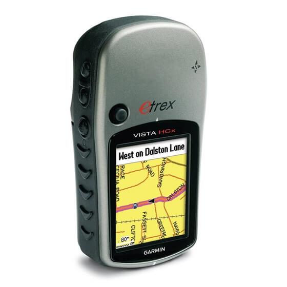 El GPS'i - eTrex Vista® HCx Görseli
