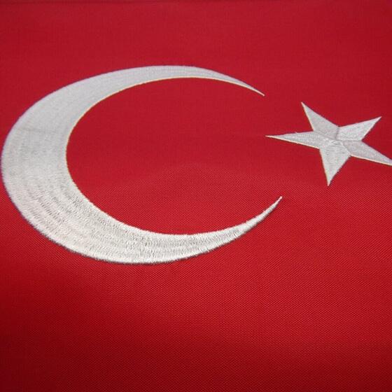 Türk Bayrakları - Nakışlı Görseli