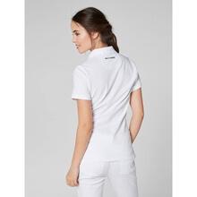 Polo T-Shirt - Kadın - Crew Pique 2 - White Görseli