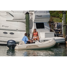 Picture of RIB - Tender LINE - 340 Top - Anthracite Hull - Cobre Upholstery