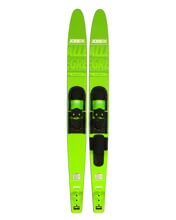 Picture of ALLEGRE COMBO WATERSKIS LIME GREEN
