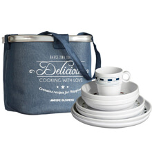 Picture of TABLEWARE PACK 6 PEOPLE, MISTRAL