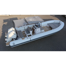 Picture of RIB - Work LINE - Tempest 900 Work - (Fish Pro) - Standard Hull - Grey Upholstery