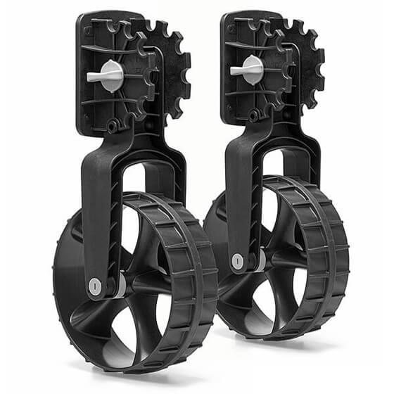 Bot Taşıma Tekerleği - Siyah Görseli