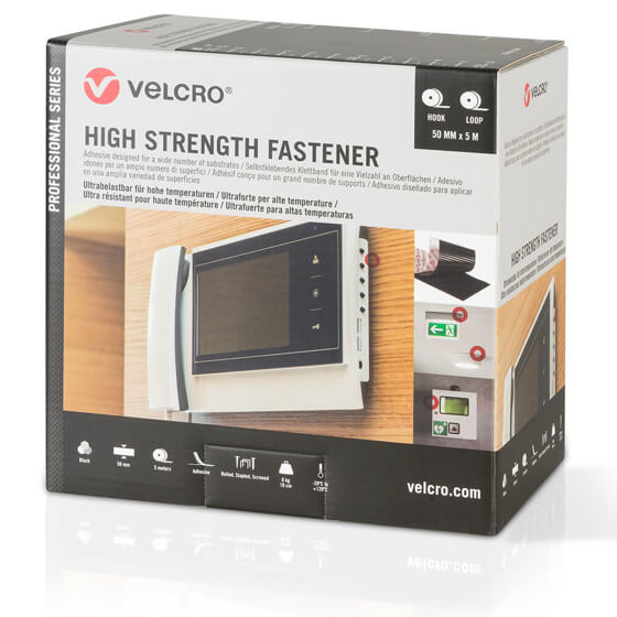 VELCRO® Brand HIGH Strength Fastener - 50mm x 5m - Siyah Görseli