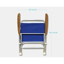 Katlanır Sandalye - Standart - Tik Kolçak - Gri Görseli