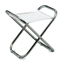 Picture of Folding Aluminum Boat Stool - White