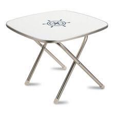 Picture of Folding Aluminum Boat Table 61 x 61 x 49 cm
