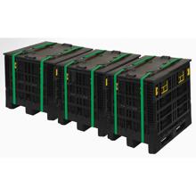 Velcro® Brand LOGISTRAP® Strap - ORGANIZER Kayış - 50mm x 6m - Yeşil (Çift Satılır) Görseli