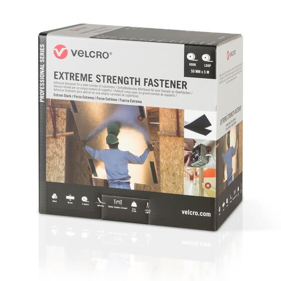 Velcro® Brand - Extreme Strength Fastener - 50mm x 5m - Siyah Görseli