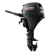 Picture of DF 15 AEL Outboard Motor - 4 Stroke - Long Shaft