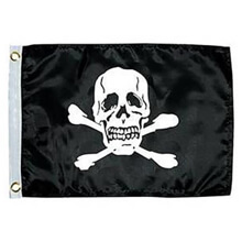 Picture of Jolly Roger Novelty Flag