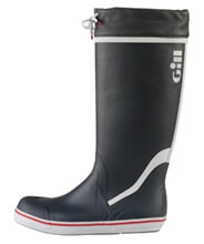 GILL TALL YACHTING BOOTS - Unisex - Carbon