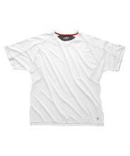 GILL MENS UV TEC CREW NECK T-SHIRT - Erkek - White/Graphite