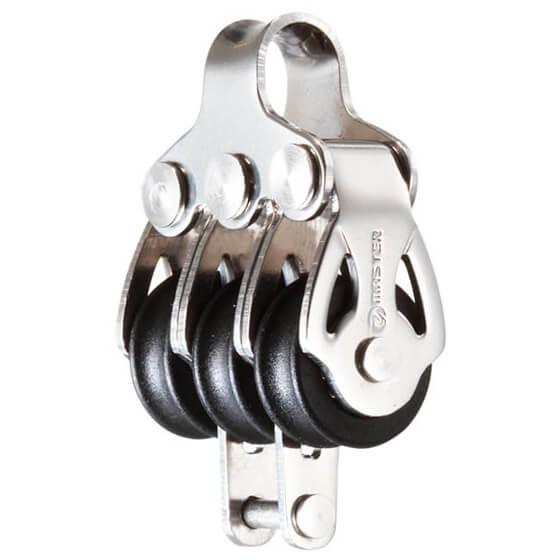 Makara - SB - Paslanmaz Çelik - 16mm - Üçlü - Bülbüllü Görseli