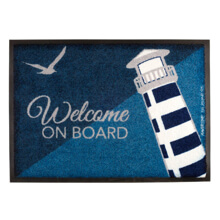 Picture of NON-SLIP MAT - LIGHTHOUSE, WELCOME