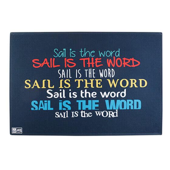Paspas - Sail Is The Word - 70x50 cm Görseli