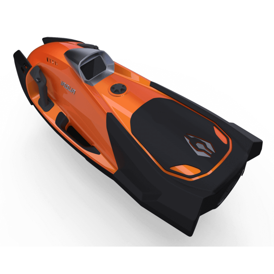 SeaDart Max - CORSICA Orange Görseli