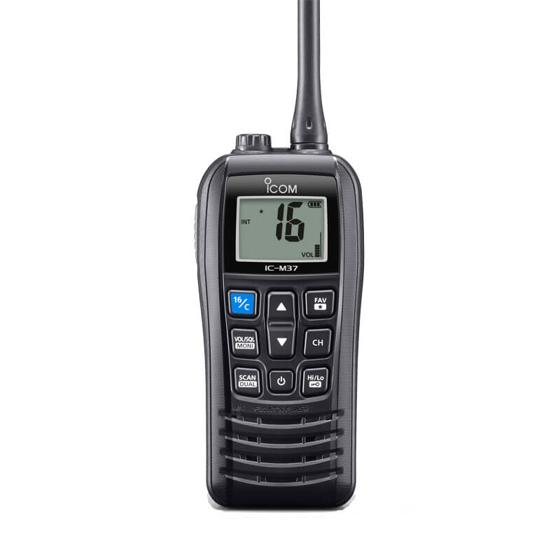 VHF El Telsizi ve Mikrofon Seti - M37E + HM165 Görseli