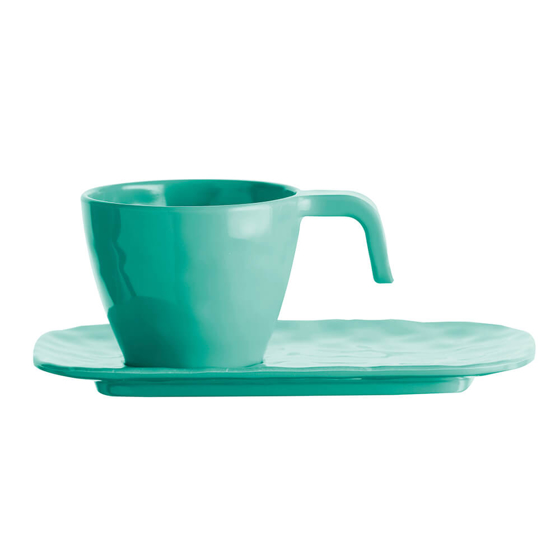 Espresso Seti - Harmony Aqua - 6 Parça Görseli