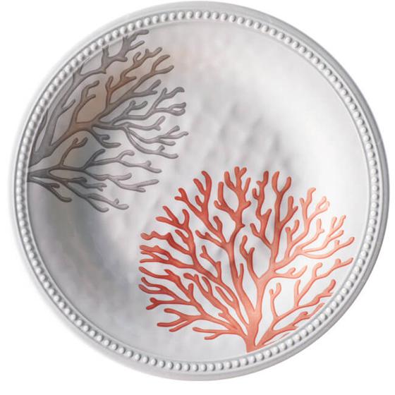 Yemek Tabağı - Harmony Coral - 6 Parça Görseli