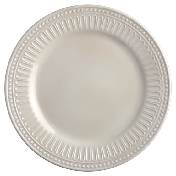 Picture of MELAMINE DESSERT PLATE, SERENITY – BONE