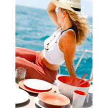 Salata Servis Seti - Summer Coral - 3 Parça Görseli