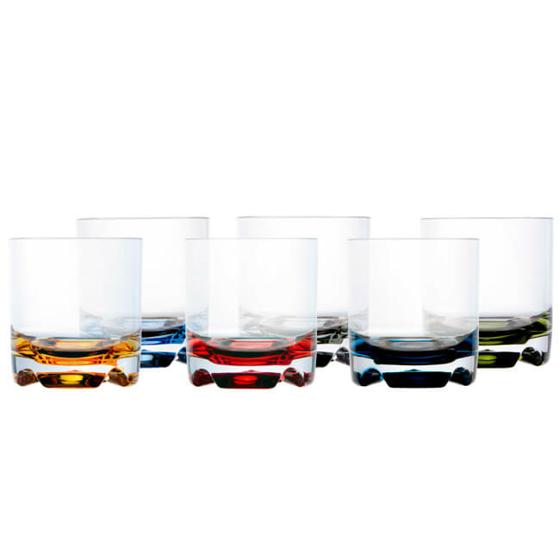 Su Bardağı - Party - Renkli - 6 Parça Görseli