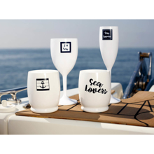 Şarap Kadehi - Sea Lovers - 6 Parça Görseli