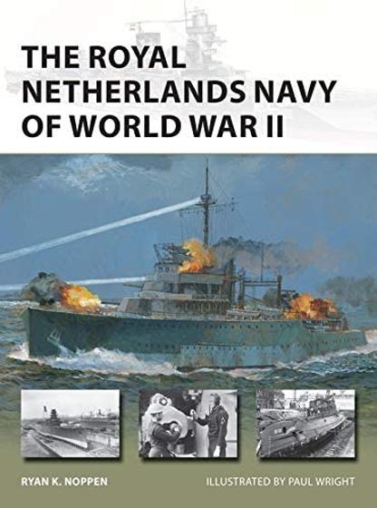 The Royal Netherlands Navy of World War II (New Vanguard) Görseli
