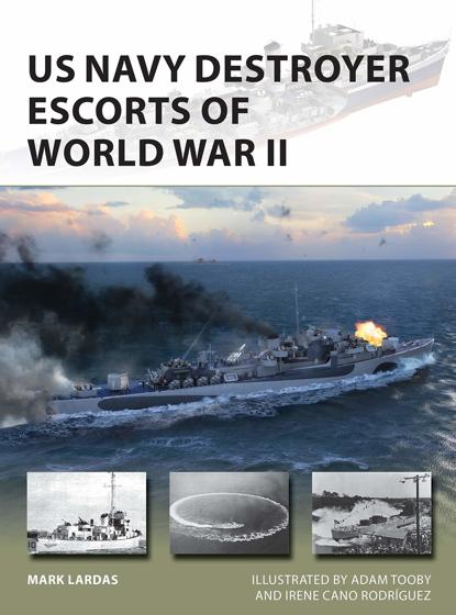 US Navy Destroyer Escorts of World War II (New Vanguard) Görseli