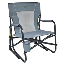 Katlanır Kamp Sandalyesi - Amortisörlü - Gri