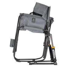 Katlanır Kamp Sandalyesi - Amortisörlü - Gri Görseli