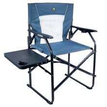 Katlanır Kamp Sandalyesi - 3 Kademeli (Rejisör Koltuk) - Mavi