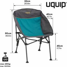 Katlanır Sandalye - Comfy Relax Konforlu & Takviyeli Görseli