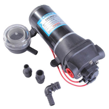 Su Pompası - Diyafram - 12v - 4,5GPM/17,1Lt/Dk - 40 PSI