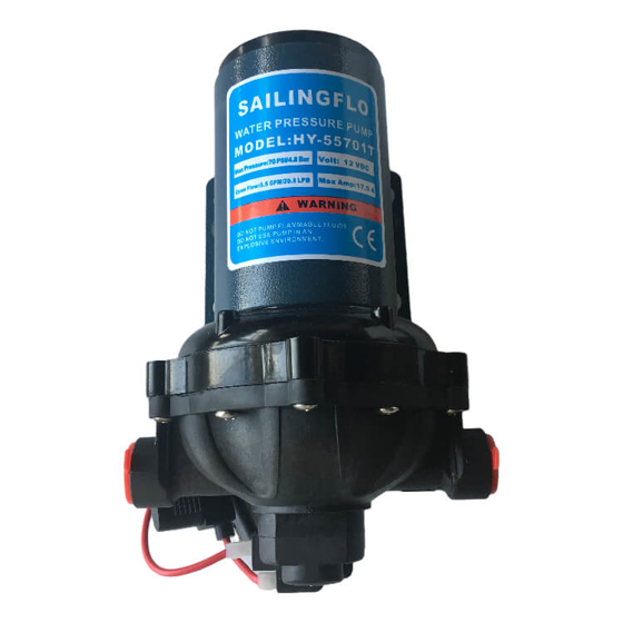 Su Pompası - Diyafram - 24v - 5,5GPM/20,8Lt/Dk - 60 PSI Görseli