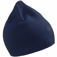 Picture of Bere - UNISEX - Brand BEANIE -  Navy